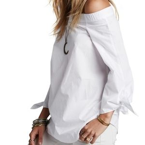 NEW Free People Show Me Some Shoulder Blouse